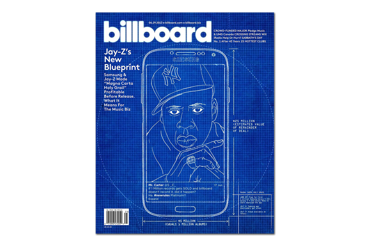 Jay-Z Covers Billboard
