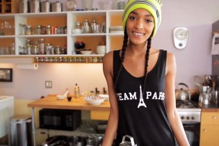 Jourdan Dunn and Wale Heat It Up In the Kitchen