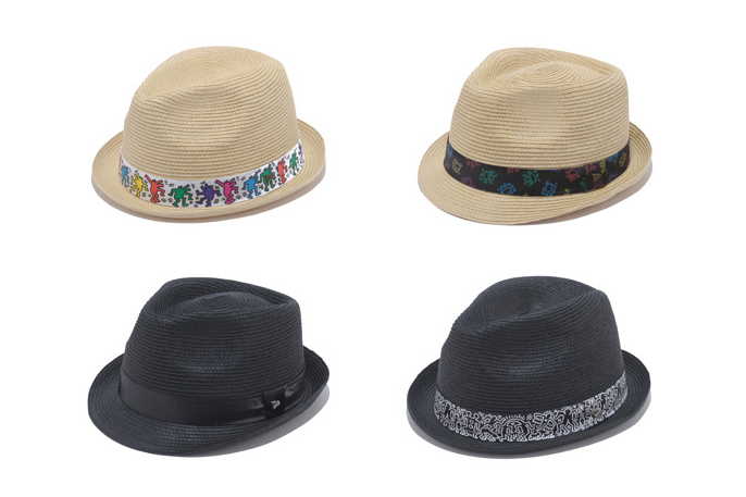 Keith Haring x New Era EK Collection 2013 Summer Fedora & Trilby