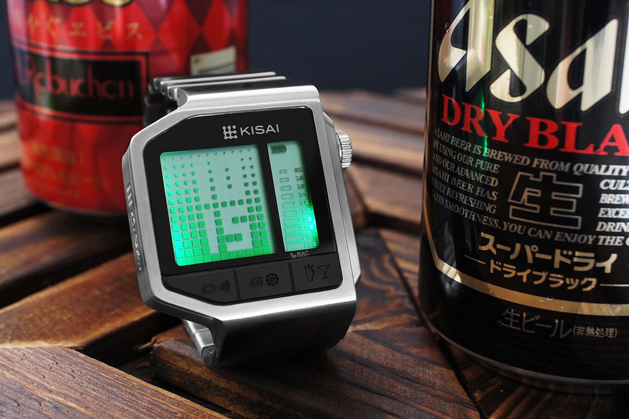 kisai breathalyzer watch