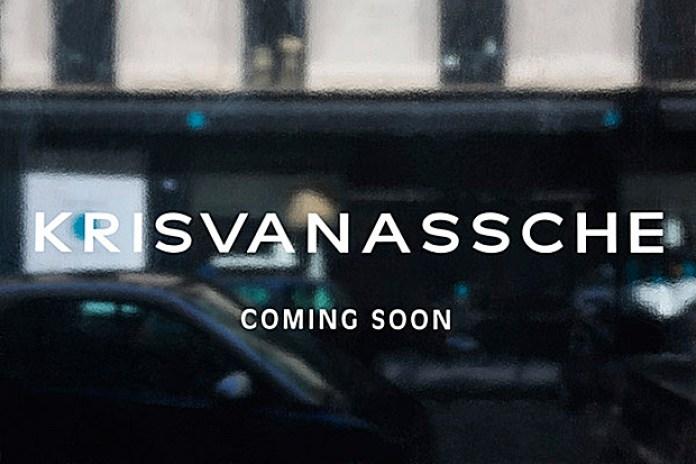 KRISVANASSCHE To Open First Boutique in Paris