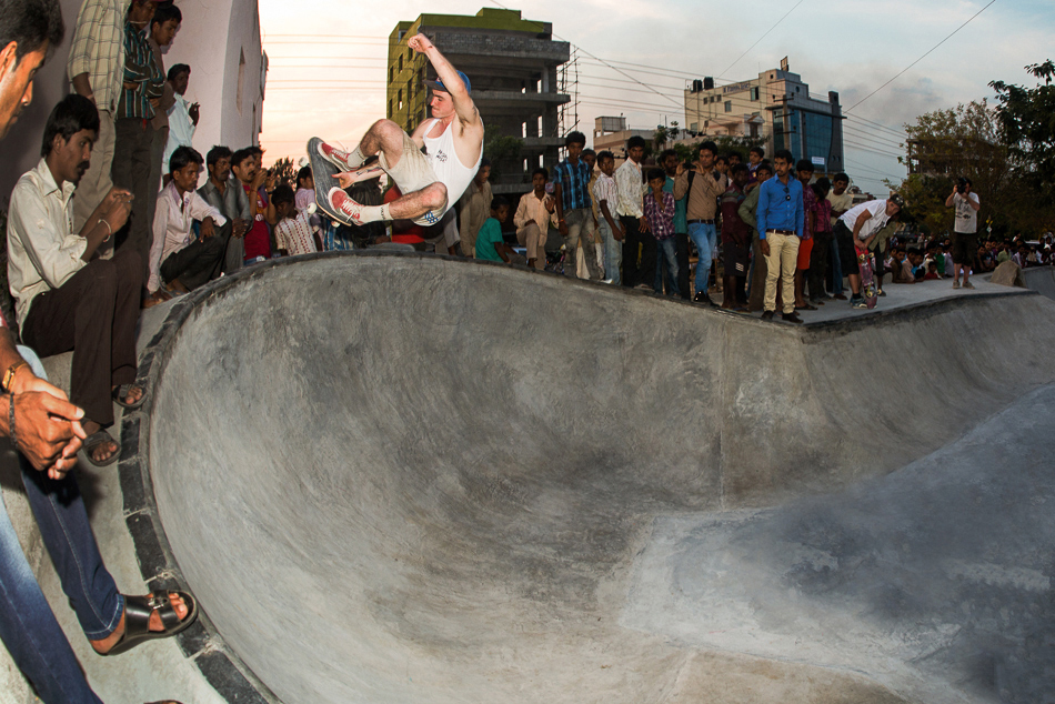 levis holy stoked skatepark in bangalore india
