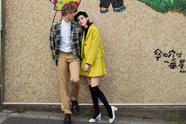 "Maison Kitsuné 2013 Fall/Winter ""High School Lovers"" Lookbook"
