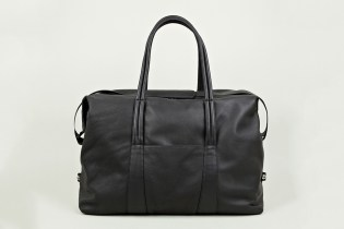Maison Martin Margiela 2013 Pre-Fall/Winter Black Leather Holdall