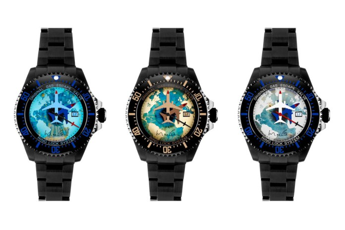 Marc Quinn x Bamford Watch Department Rolex Deepsea Collection
