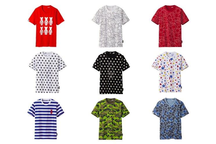 "Medicom Toy Bearbrick x Uniqlo 2013 Summer ""UT"" Collection"