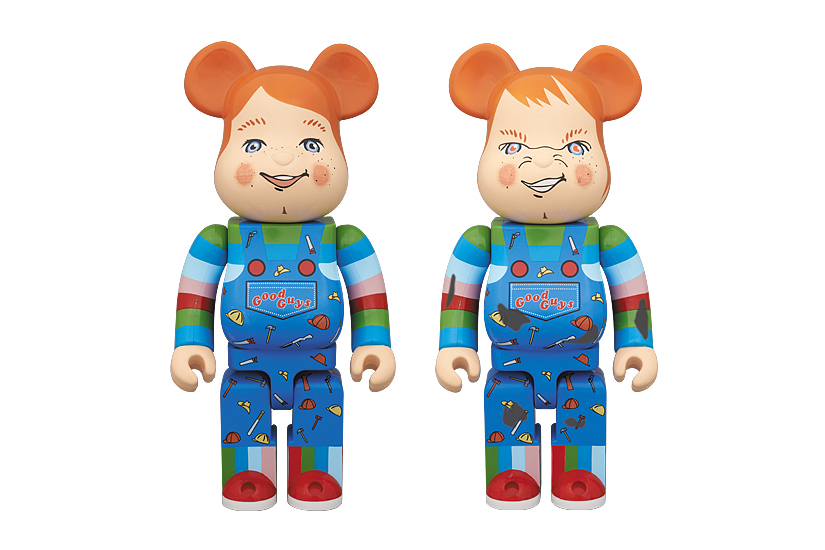 medicom toy good guy chucky 400 bearbricks
