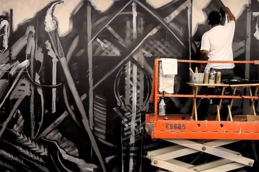 MOCAtv: RETNA at MOCA Grand Ave. – Art in the Streets