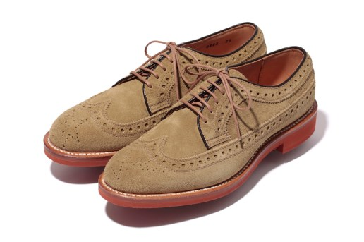 Mr. Bathing Ape x Regal Suede Brick Sole Wingtip