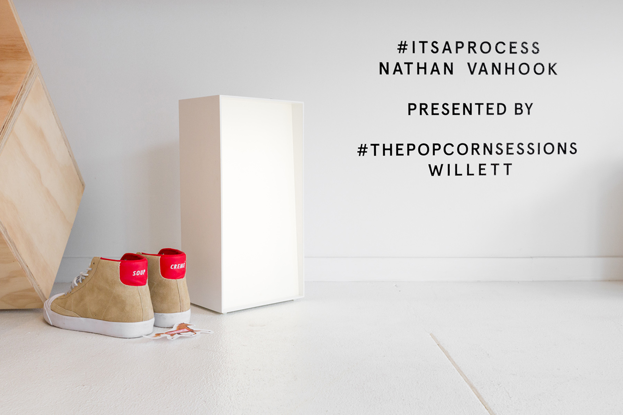 "Nathan VanHook ""#ITSAPROCESS"" Installation @ Table of Contents"