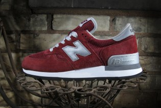 "New Balance 990 ""Made in USA"" Burgundy"