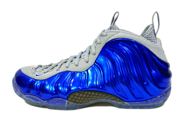 Nike Air Foamposite One Game-Sport Royal/Wolf Grey