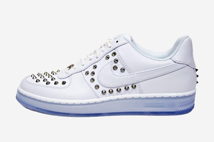 "Nike Air Force 1 ""Downtown Spike"" White"
