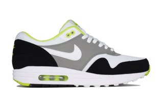 Nike Air Max 1 Essential White/Medium Grey-Black