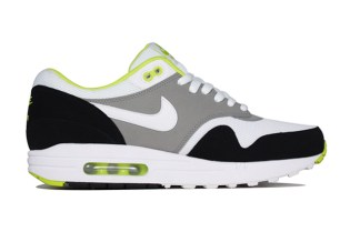 Nike Air Max 1 Essential White/Medium Grey-Black