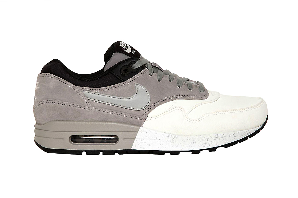 Nike Air Max 1 Premium Grey/White/Black