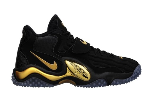 Nike Air Zoom Turf Jet 97 Black/Metallic Gold-Pro Platinum
