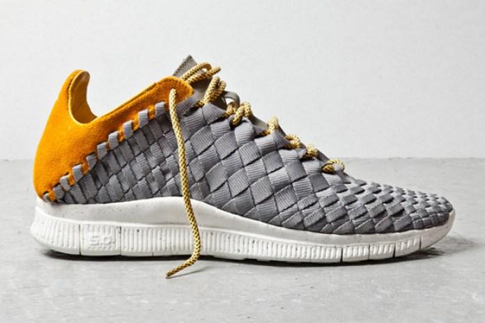 Nike Free Inneva Woven Grey/Laser Orange