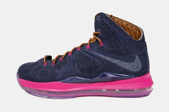 Nike LeBron X Claim EXT Denim QS