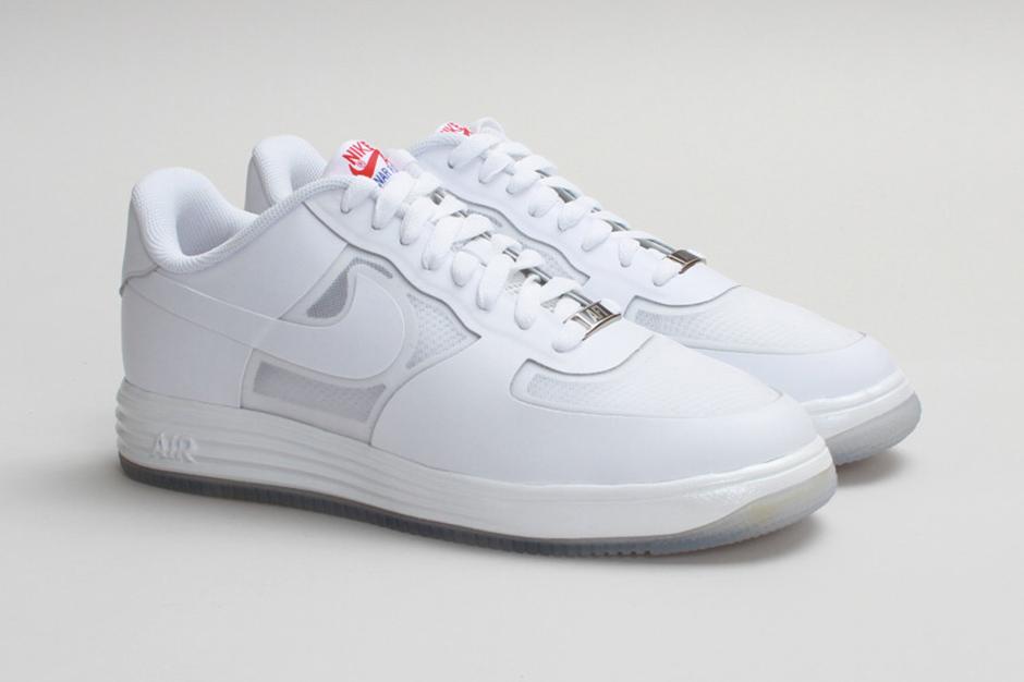 """Nike Sportswear Lunar Force 1 Fuse LTHR """"White on White"""""""
