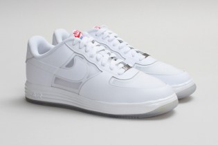 "Nike Sportswear Lunar Force 1 Fuse LTHR ""White on White"""