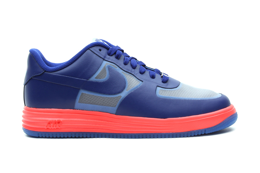 Nike Lunar Force 1 Fuse Wolf Grey/Deep Royal Blue