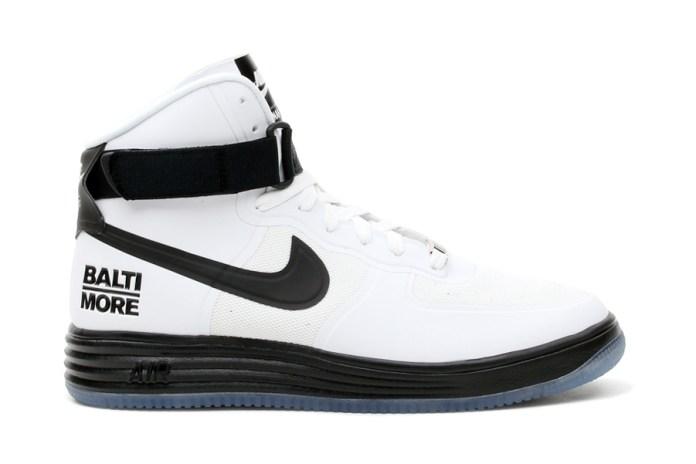 """Nike Air & Lunar Force 1 Hi """"Baltimore"""" Pack"""