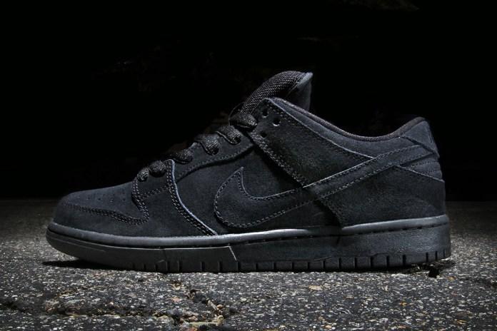 Nike SB Dunk Low Pro Black/Black