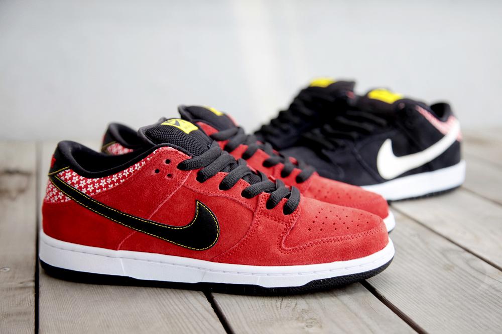 "Nike SB Dunk Low Pro Premium QS ""Firecracker"" Pack"