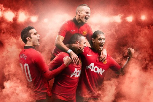Nike Unveils Manchester United's 2013-2014 Home Kit
