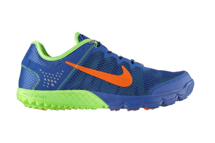 Nike Zoom Terra Wildhorse Prize Blue/Total Orange-Flash Lime