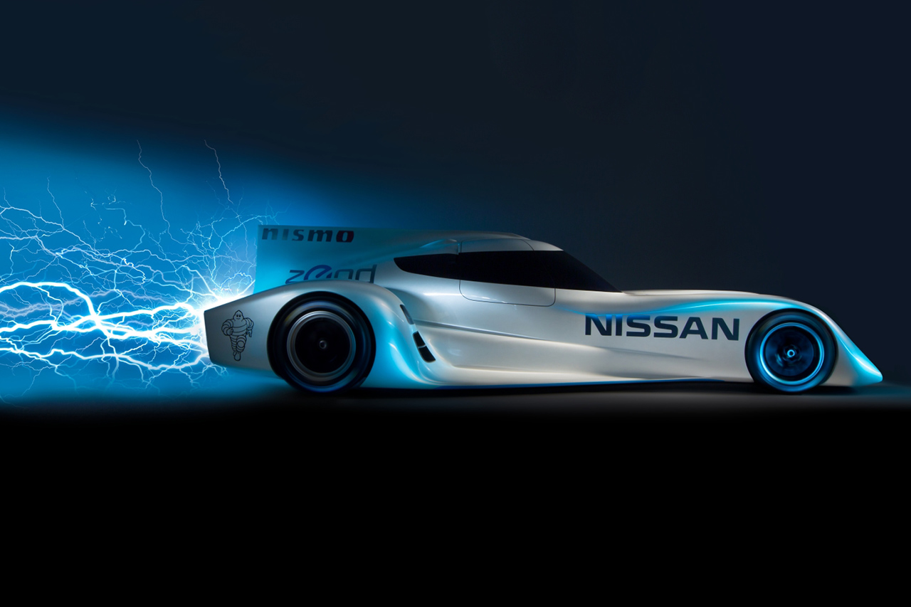 nissan unveils the zeod rc the worlds fastest electric race car