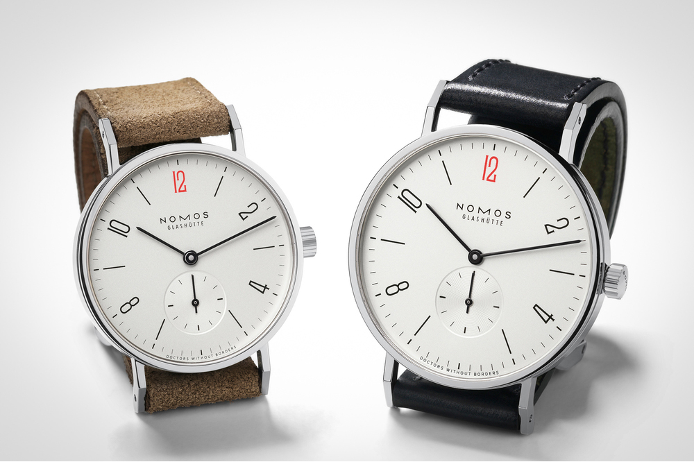 NOMOS Releases Two Limited Edition Watches to Benefit Doctors Without Borders