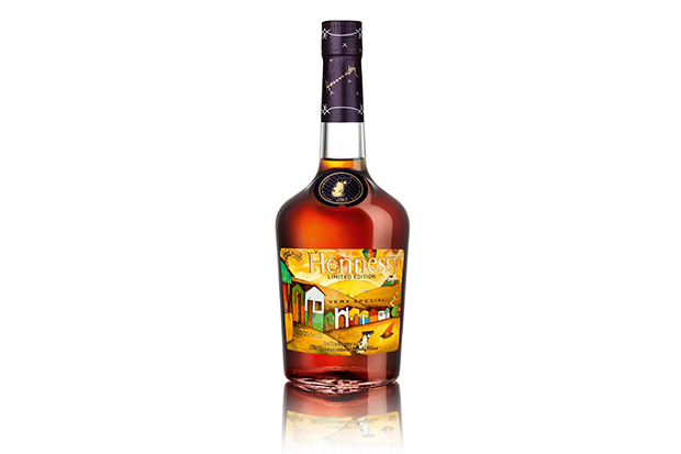 Os Gemeos x Hennessy Very Special Cognac Limited Edition Bottle