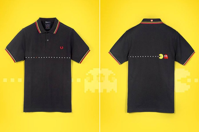 PAC-MAN x ten_do_ten x Fred Perry 2013 Spring/Summer Collection