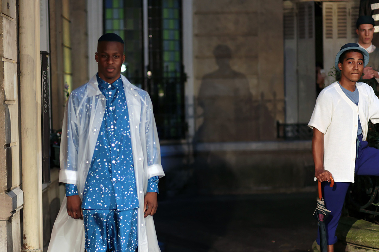 Candid Scenes from Pigalle's 2014 Spring/Summer Show