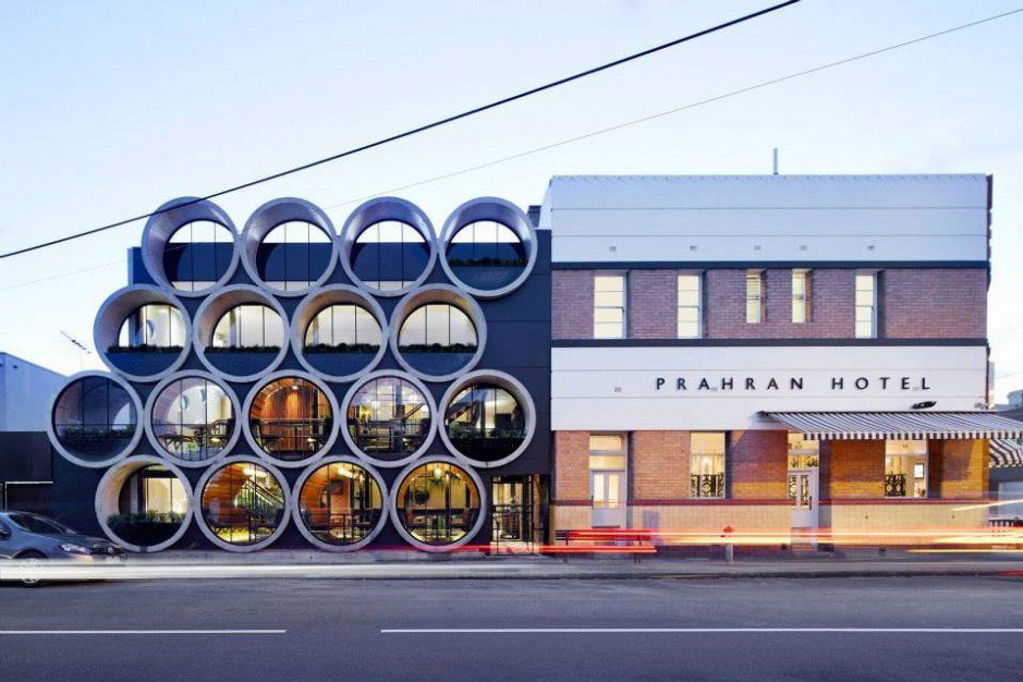 Prahan Hotel by Techné Architects
