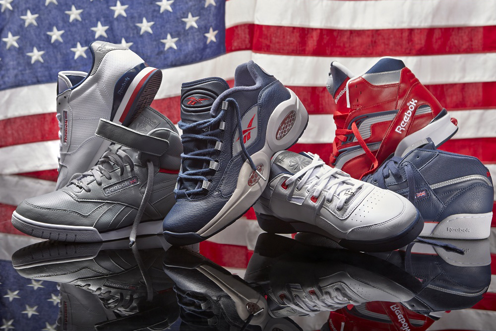 reebok classics 2013 summer patriot pack