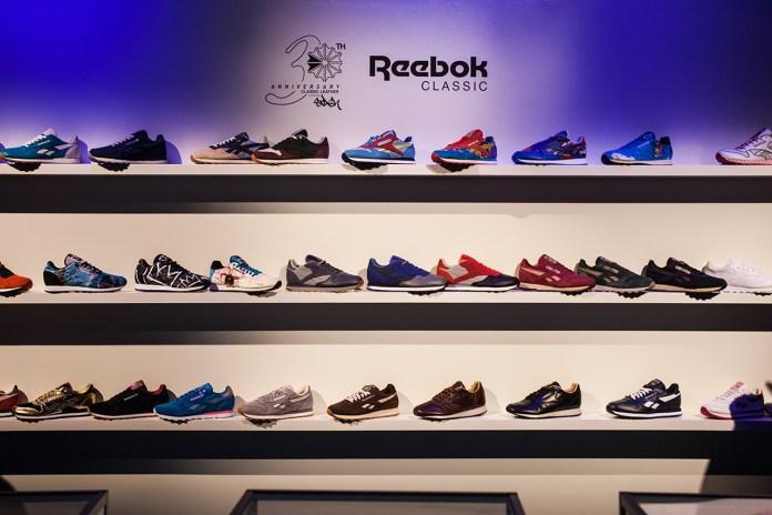 Reebok Classic Leather 30th Anniversary Recap