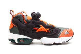 Reebok Pump Fury Darkest Olive/Blazing Orange
