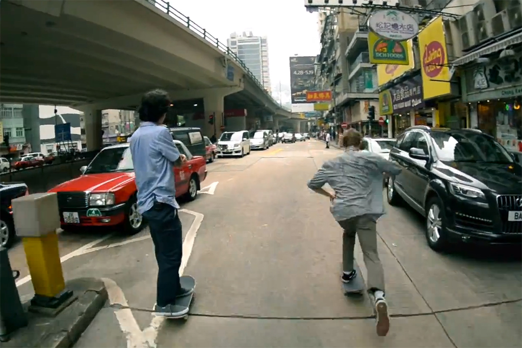 RIDE Channel: SKATE Hong Kong with Chris Bradley