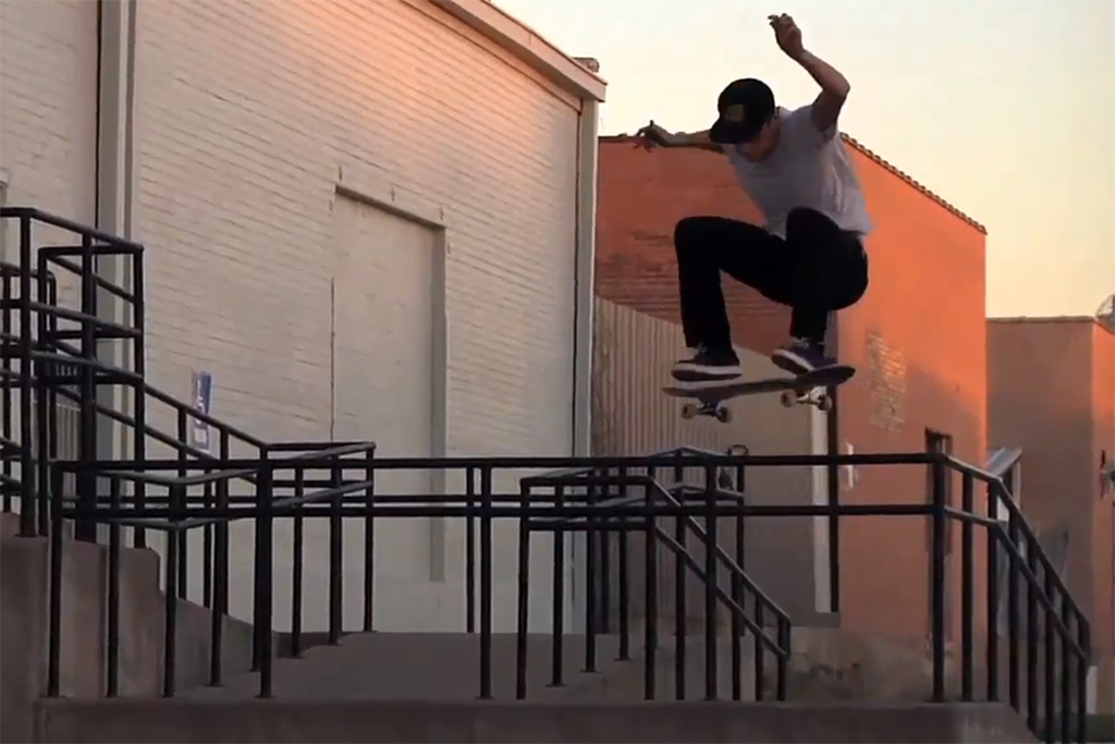 """Ride Channel: """"Trippin' in Texas"""" with HUF"""