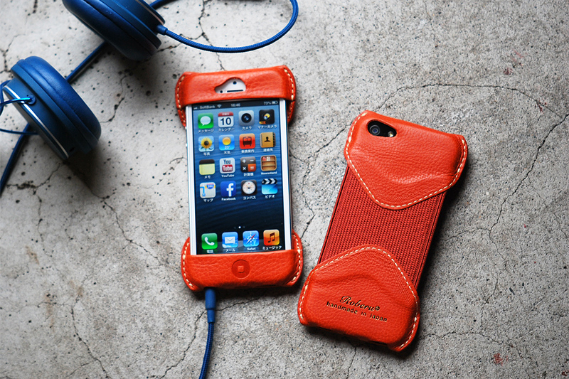 Roberu Toscana Vachetta Leather iPhone 5 Case