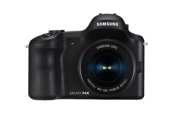 Samsung Announces Android-powered Galaxy NX 20MP Mirrorless Camera