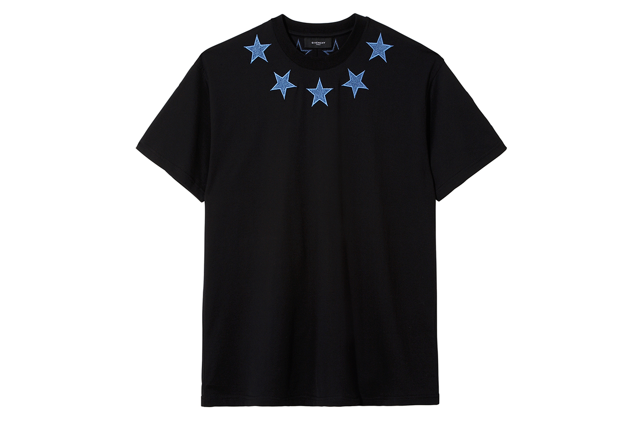 selfridges x givenchy denim star t shirt