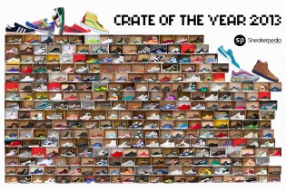 """Sneakerpedia 2013 """"Crate of the Year"""" Competition"""