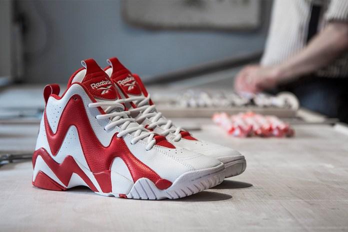 "Sneakersnstuff x Reebok Kamikaze II Mid ""Polkagris"""