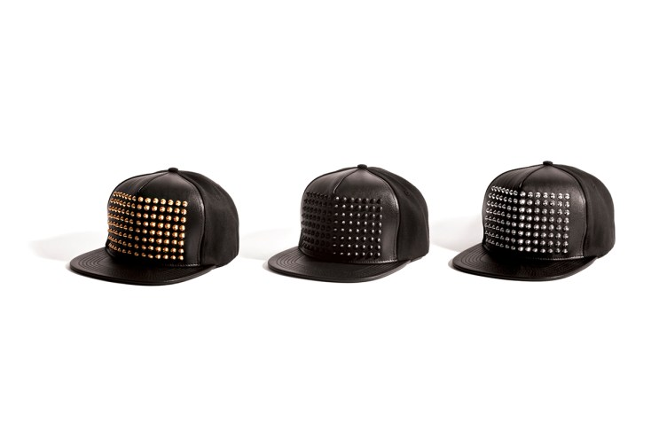 Stampd Leather Studded Snapback Collection