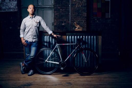 Staple Design x Strada Customs Trackster Bicycle