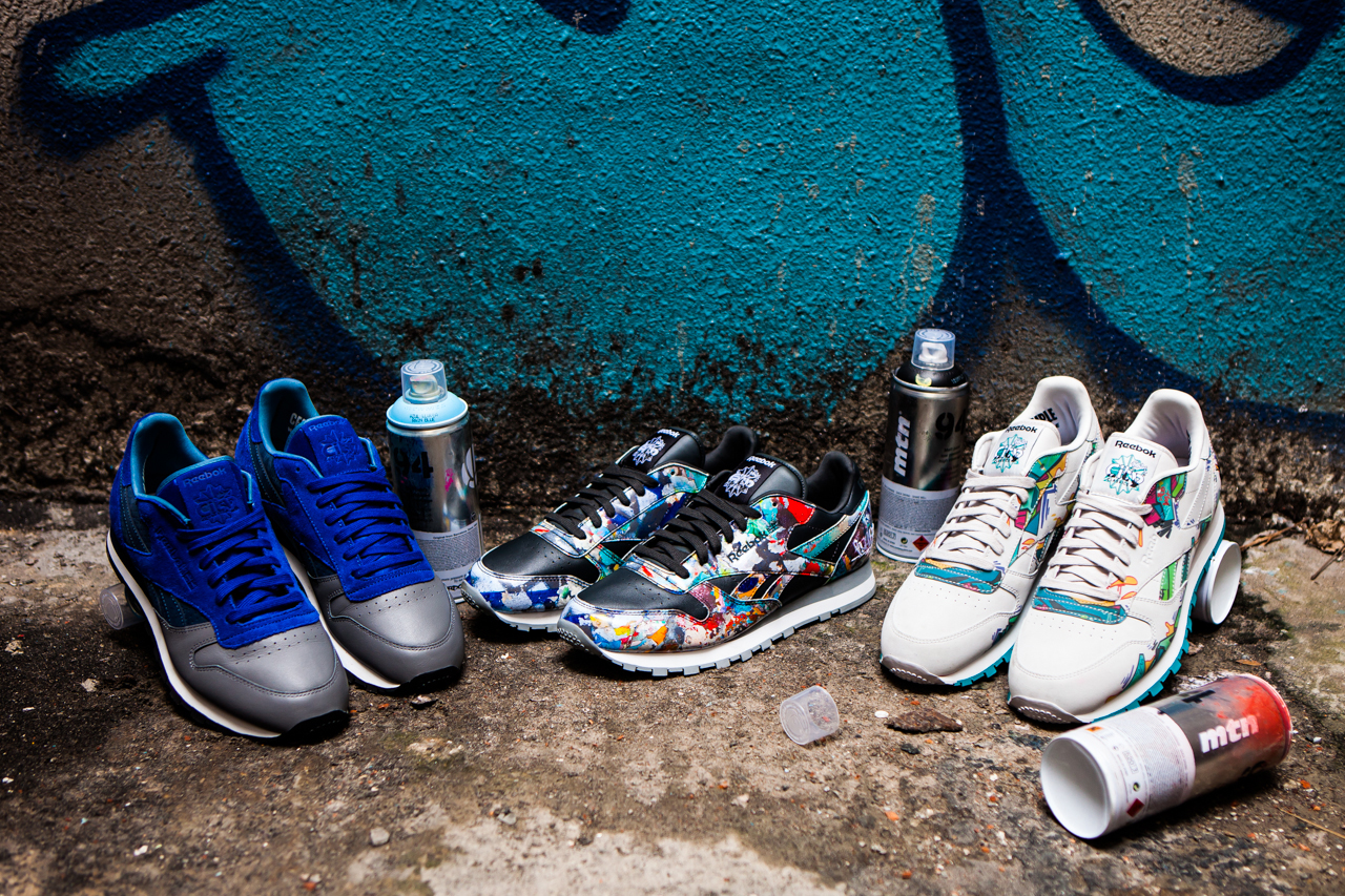 Stash and Reebok Classic Present the City Series featuring Select Artist Collaborations
